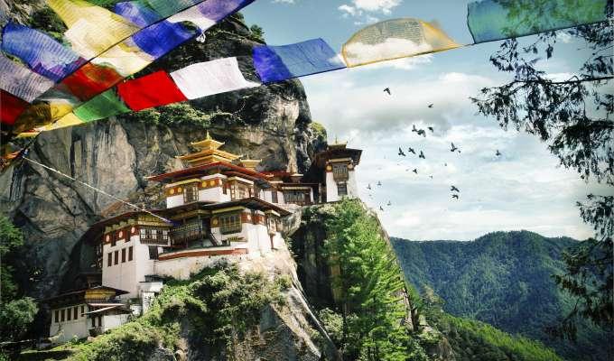 Nepal og Bhutan