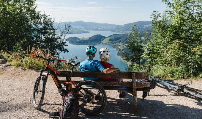 E-Mtb i Österrike på egen hand