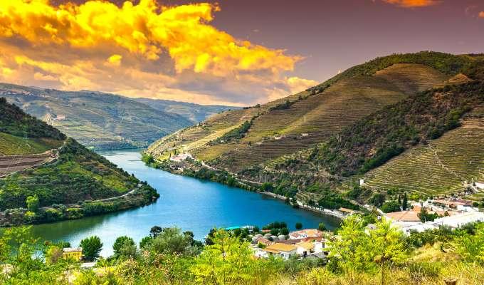 Kortcruise på Douro fra Porto