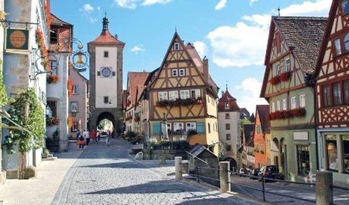 Elvecruise på Mosel, Rhinen og Donau