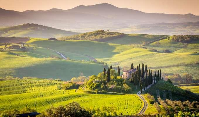 Toscana med Chianti