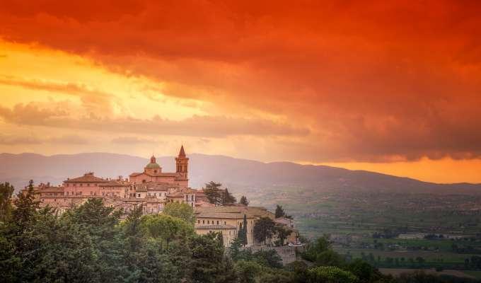 Trevi i Umbria - Italias grønne hjerte