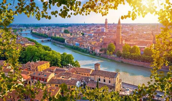 Elvecruise i Italia