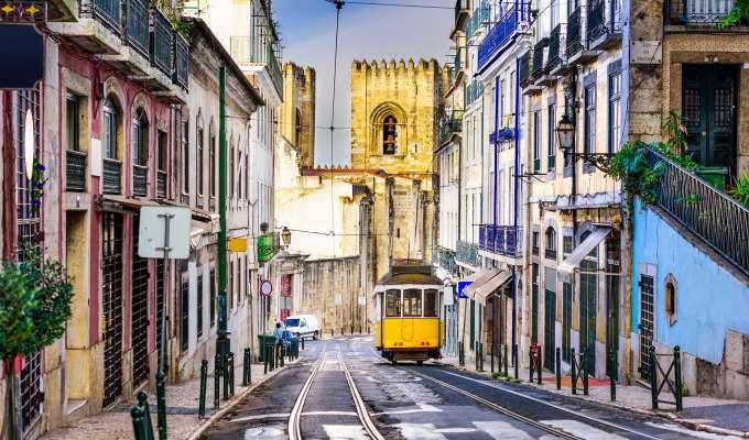 Porto, Dourodalen og Lisboa