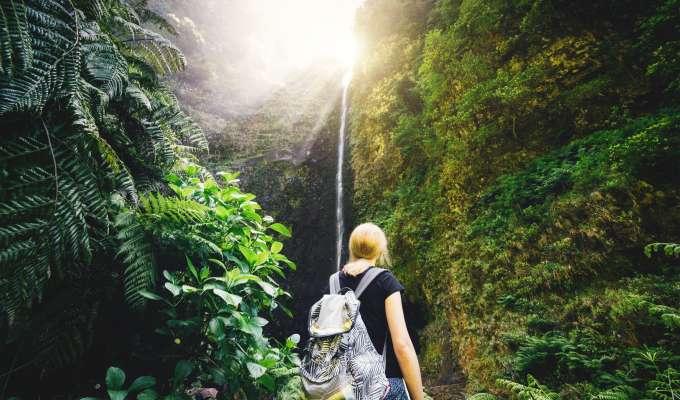 Lätt vandring på Madeira