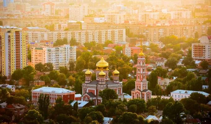 Elvecruise på Volga fra Astrakhan