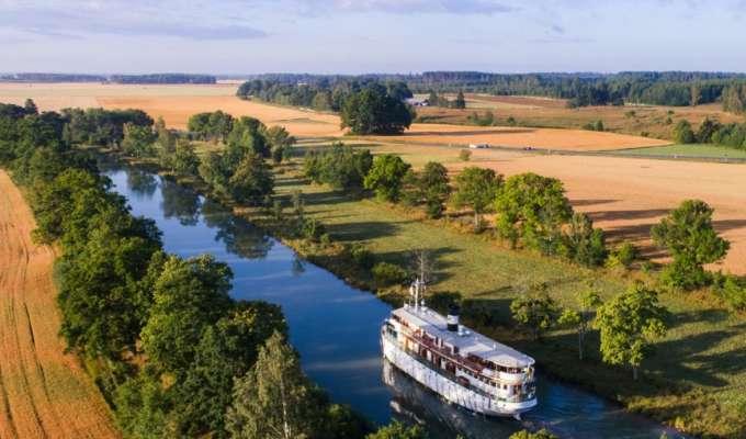 Den klassiske reisen på Göta kanal