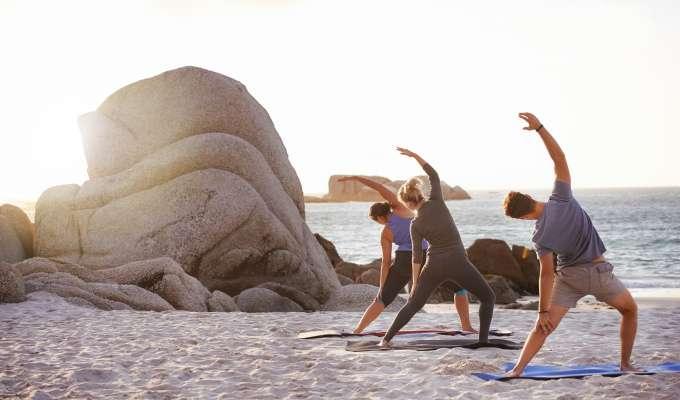 Yoga och vandring i Portugal