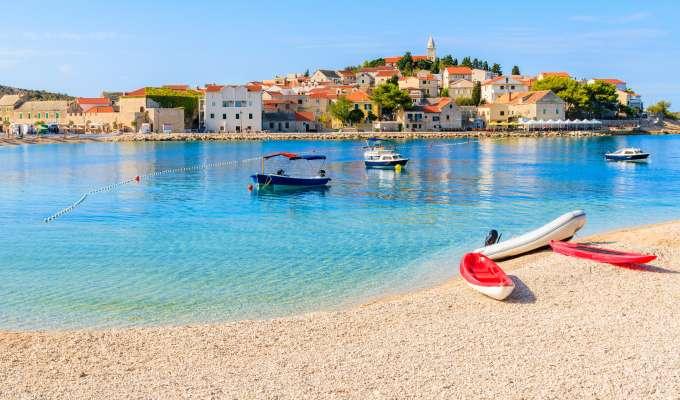 Kajak i Kroatien
