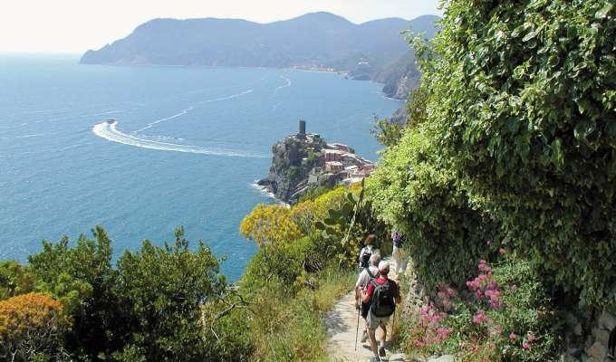 Vandring i Ligurien och Cinque Terre