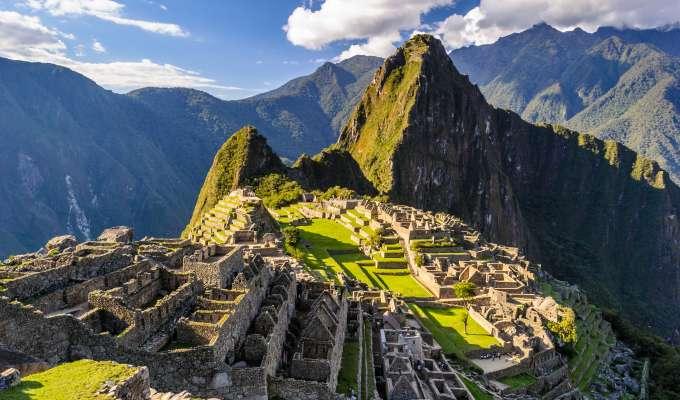 Panamakanalen med Ecuador og Machu Picchu