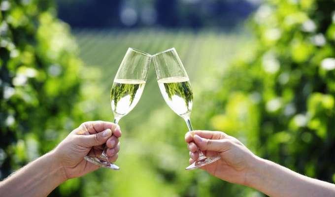 Champagnetur til Frankrike