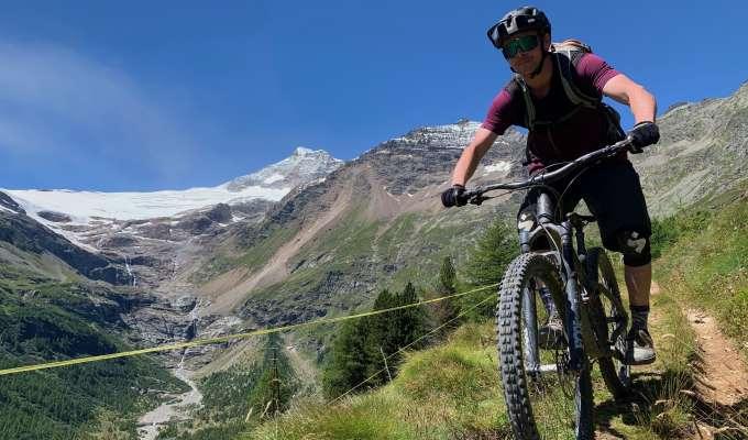 Mountainbike i Livigno