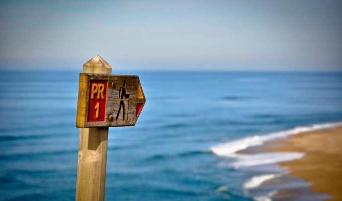 Lätt vandring i Portugal