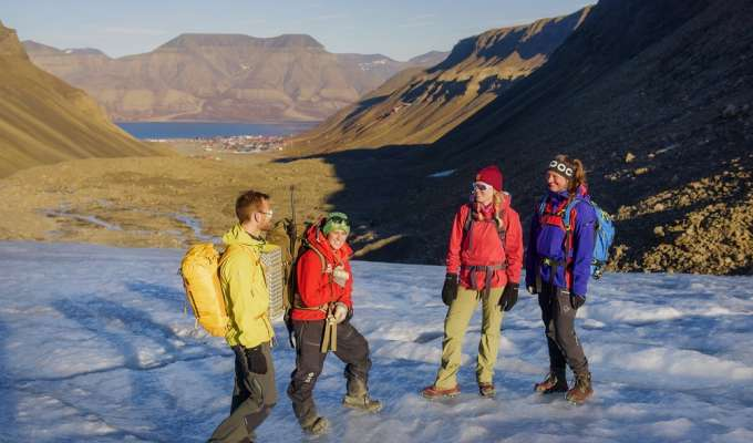 Vandring på Svalbard