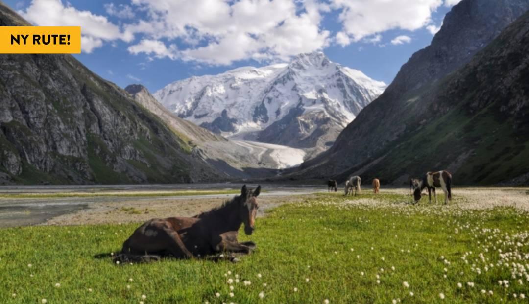 Fottur i Kirgisistan