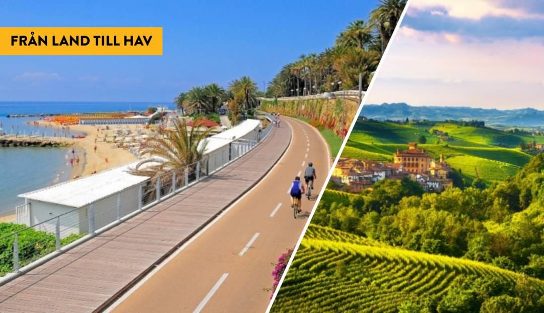 Cykla från Barolo till Sanremo
