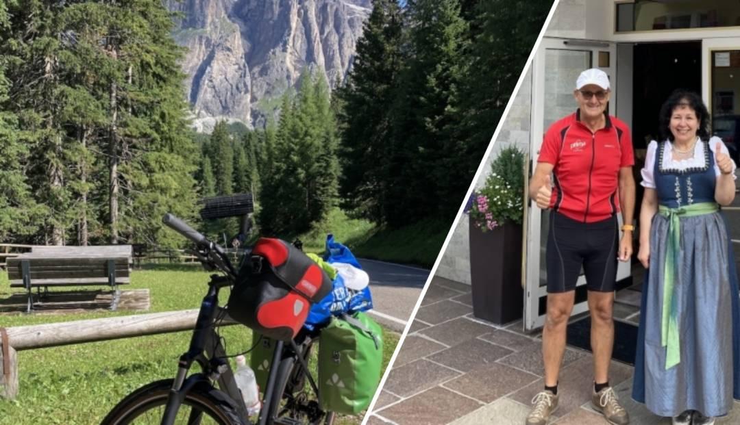 Följ LG's cykelodyssé genom Alperna