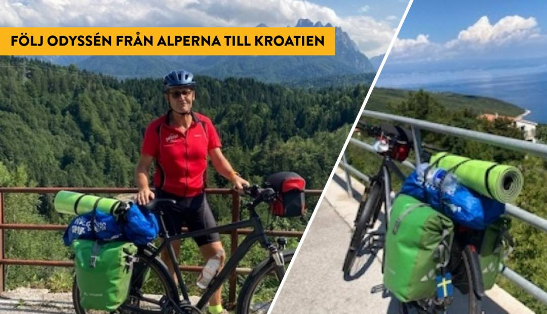 LG cyklar till Kroatien, del 3
