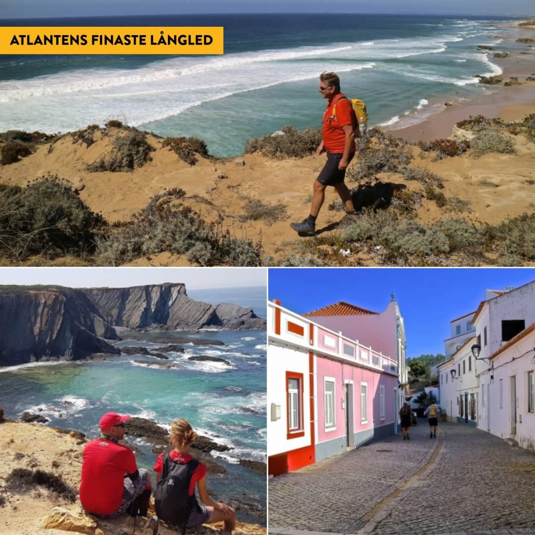 Kustvandring i Portugal