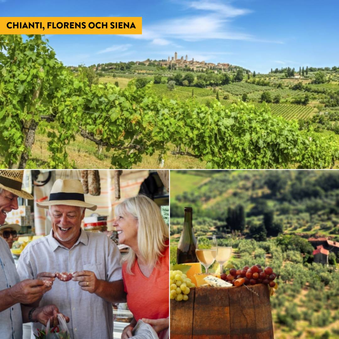 Lätt vandring i Toscana