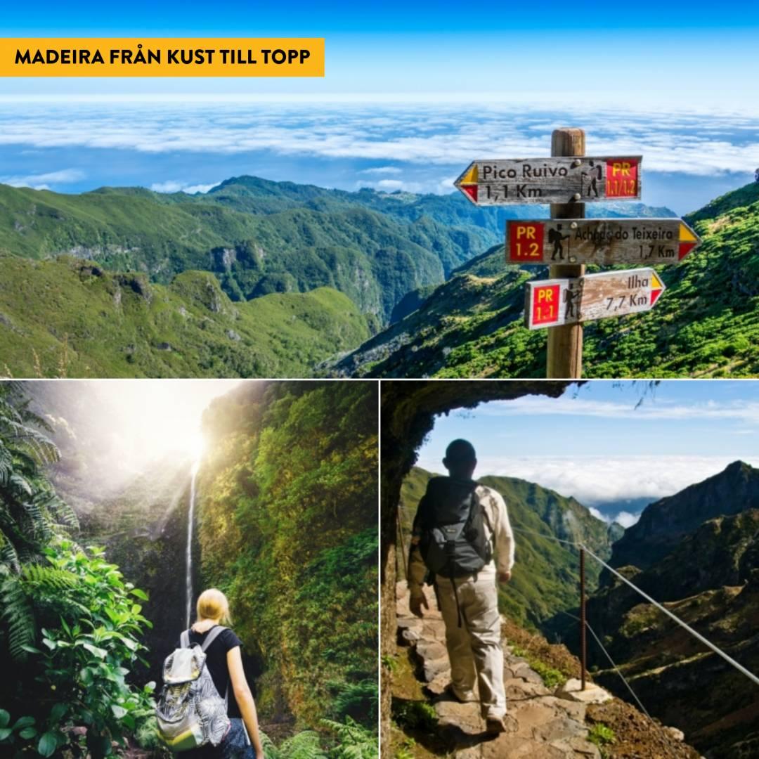 Vandring på Madeira