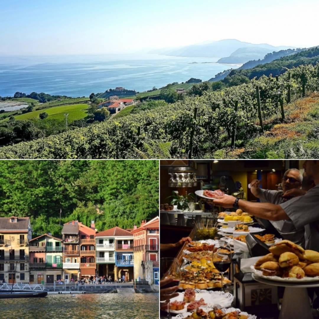 Mat & Vandring i Baskien