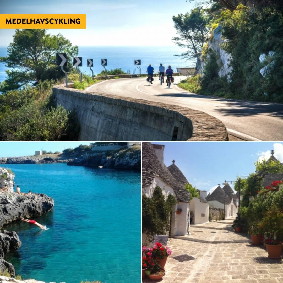 Cykla i Apulien