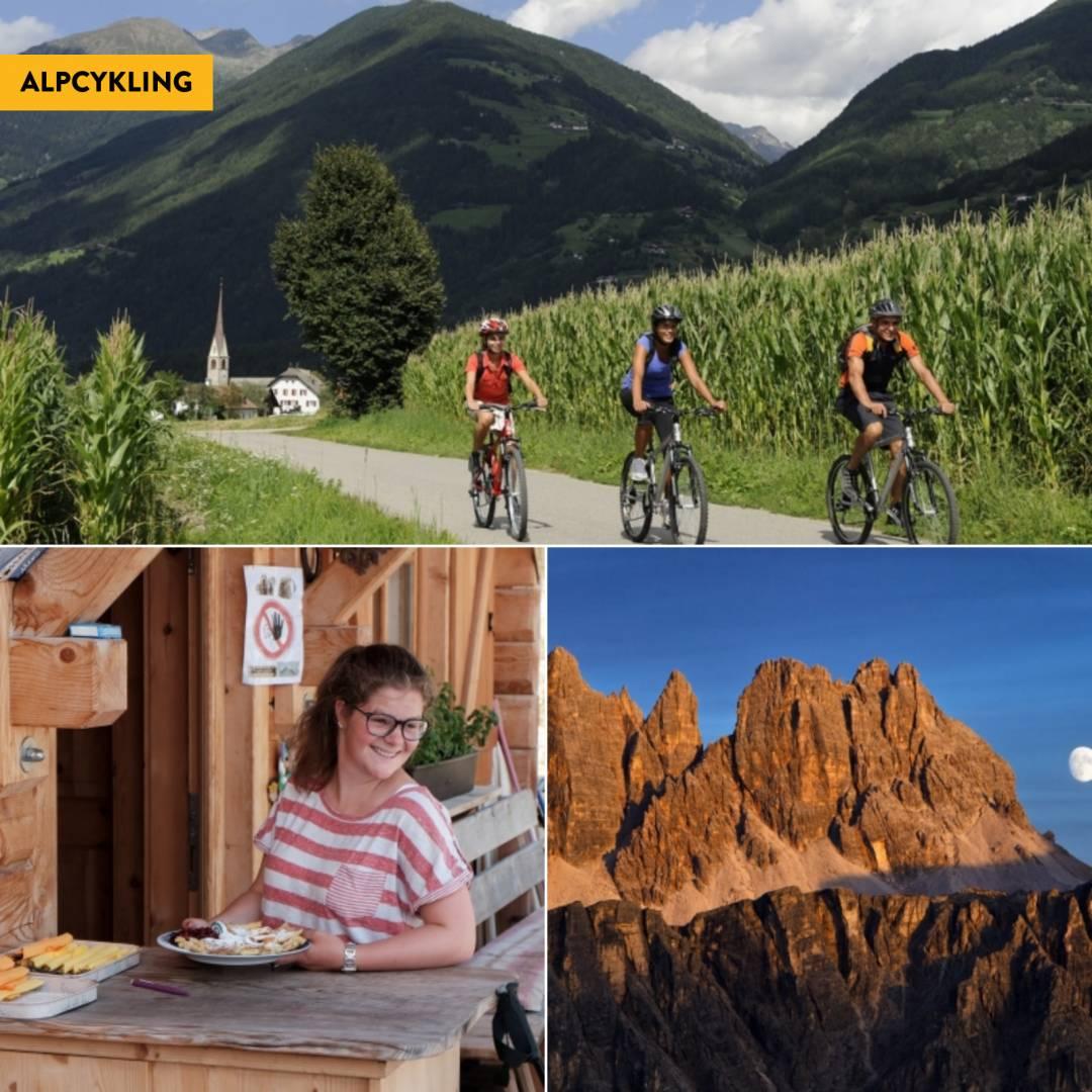 Cykla i Dolomiterna