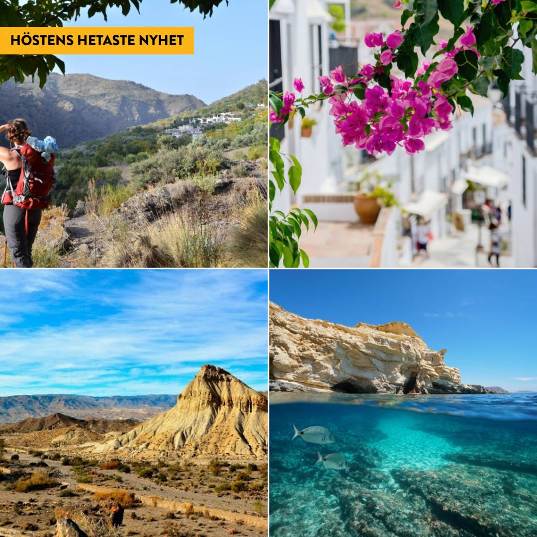 Vandring i vilda Andalusien