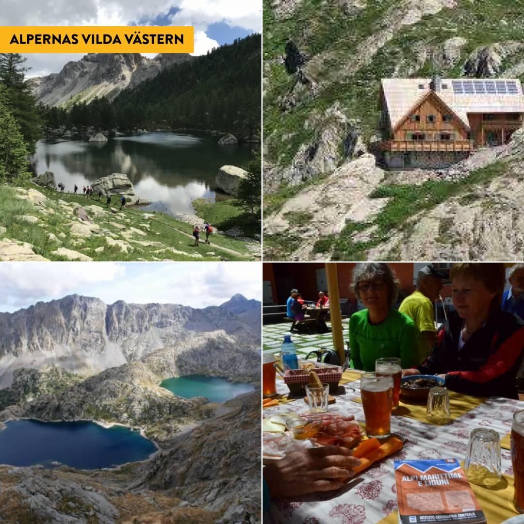 Trekking i Maritima Alperna