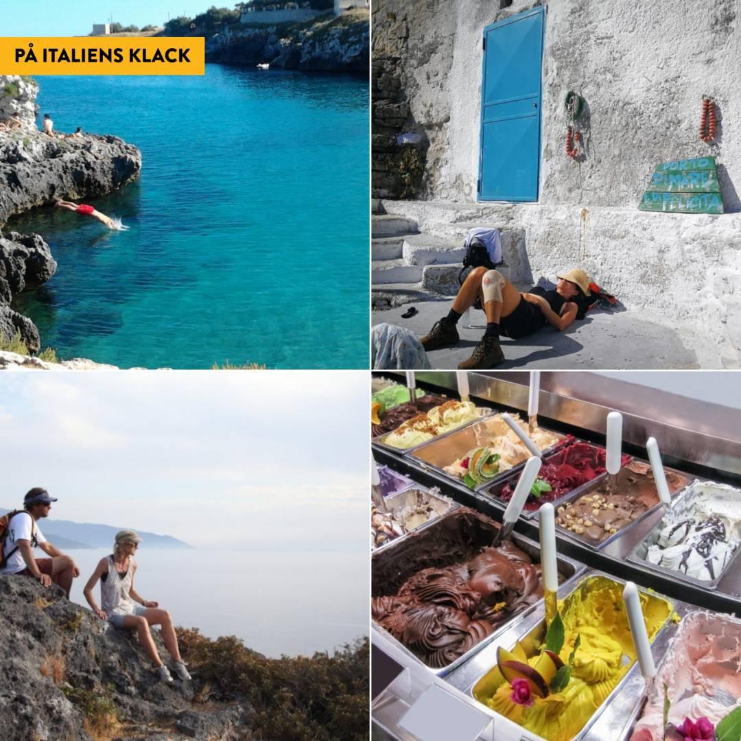 Lätt vandring i Apulien med Salento