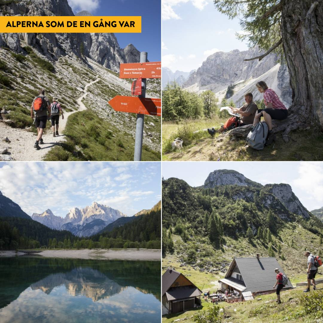 Vandring i Julianska Alperna