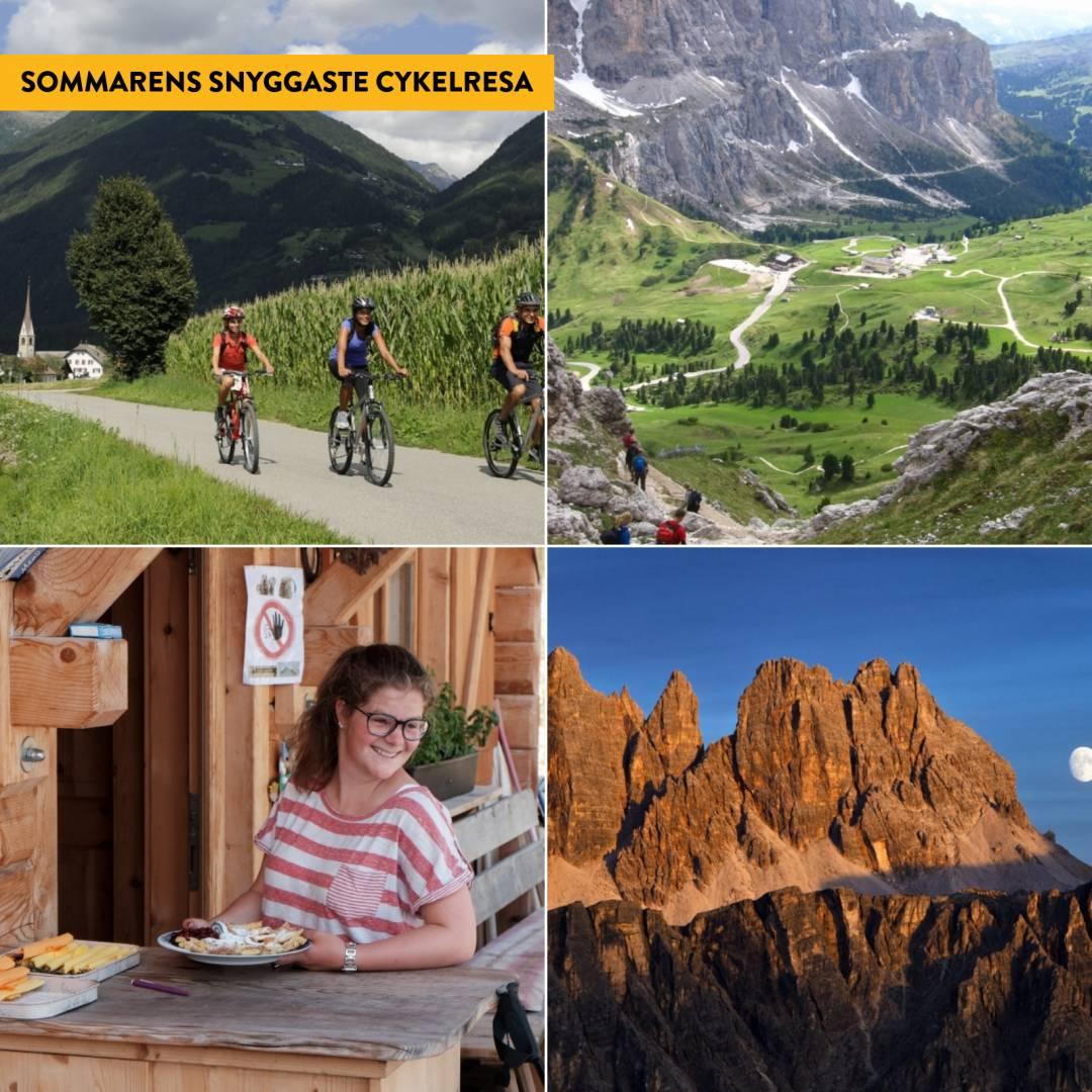 Cykla genom Dolomiterna