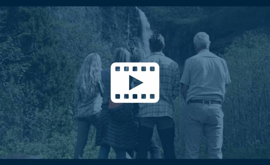 Video fra Nes Gard og naturen rundt